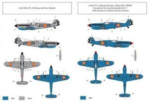 Bilde av HA-1112 M1L Spanish AF Decals