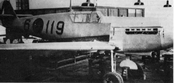 Messerschmitt ME109E-1 med Hispano Suiza Engine, Resin Konverter