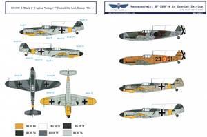 Bilde av 1/32 BF 109F Spanske Luftforsvar - Dekaler