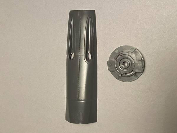Bf 109F/G cowling parts